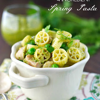 4-Ingredient Spring Pasta