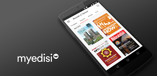 Application for reading magazines, Tabloids, books and newspapers Easily
