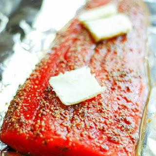 Baked Salmon With Honey And Soy Sauce Recipes.