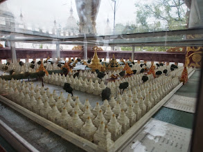 Photo: Model of the Library