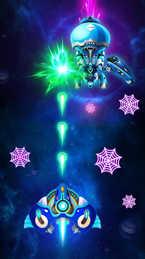 Code Triche Space Shooter: Les Envahisseurs Extraterrestres apk mod screenshots 4