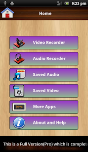 Audio and Video Recorder Lite App Download For Android 10