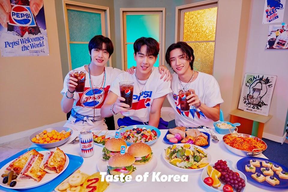 Taste of Korea Pepsi Campaign