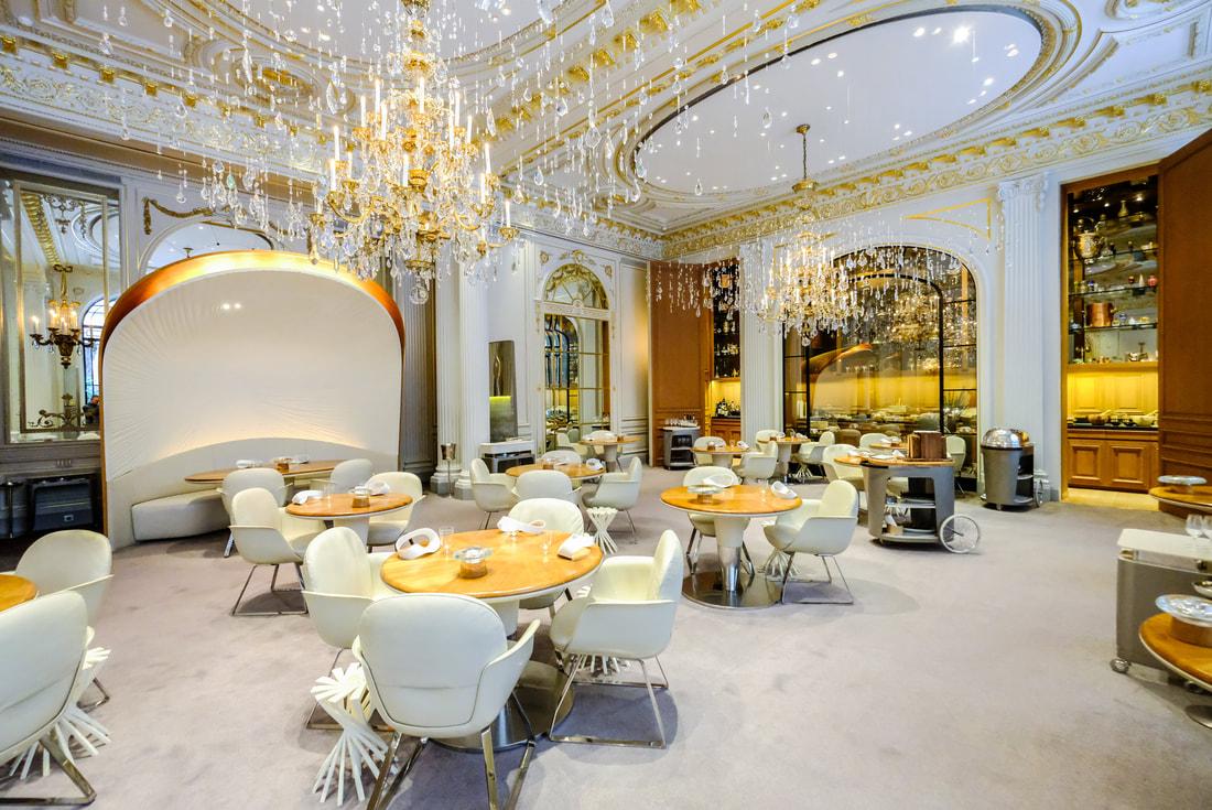 Thiết kế nhà hàng phong cách tân cổ điển