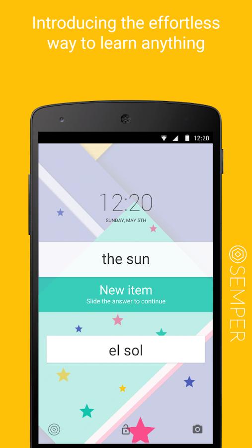 Semper: Learn Effortlessly - screenshot