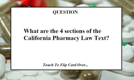 CPJE California Pharmacy Exam