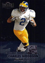 Photo: Charles Woodson 1998 Metal Universe RC