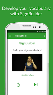 SignSchool: Learn ASL for Free- screenshot thumbnail