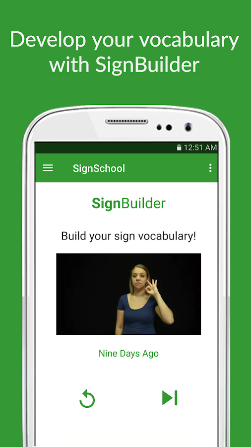 SignSchool: Learn ASL for Free- screenshot