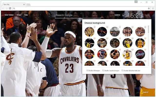 NBA Cleveland Cavaliers Wallpaper Cavs NewTab