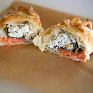 Salmon Spinach Goat Cheese Recipes