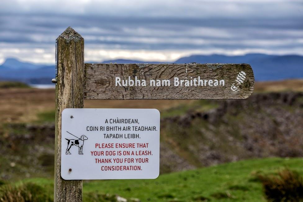 Szkocja, Brother's Point, atrakcje Wyspy Skye