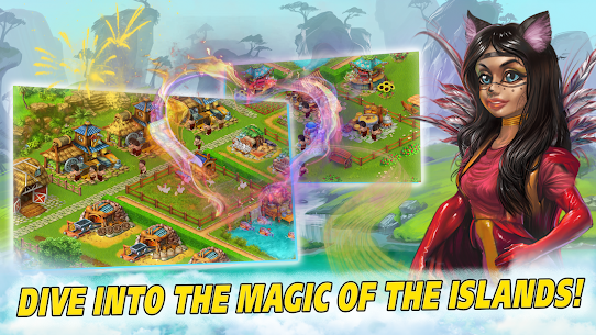 Farm Tribe 3: Cooking Island 1.2.2 Mod APK Updated Android 1