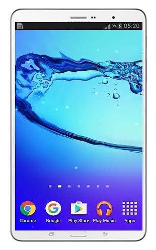 Galaxy Water Live Wallpaper  screenshots 10