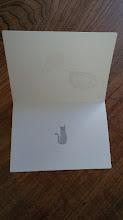 Photo: 二つ折りカード 2 (hello)〈中〉