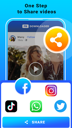 Video Downloader for Facebook - FB HD Video Saver  screenshots 4