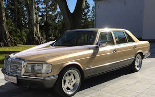 Mercedes 500 SEL Rent Nordjylland