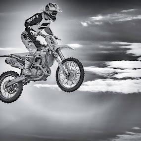 Flying angel by Patricia Konyha - Sports & Fitness Motorsports ( motocross, 2016,  )