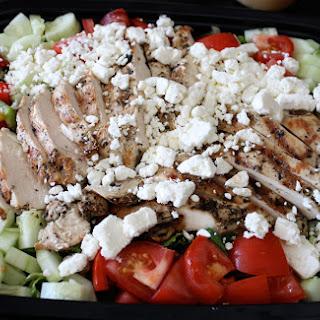 Greek Grilled Chicken Salad.