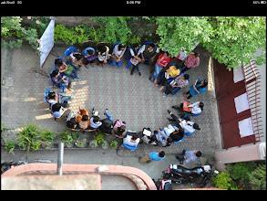 Photo: 4.11.13 street harassment discussion in Nepal