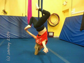 Photo: New position in aerial yoga. Oh my and here I am still, appreciating that I can continue to do this.