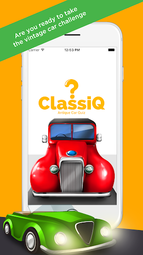 CLASSIQ - Antique Car Quiz