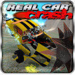 Real Car Crash Icon