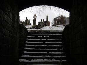 Photo: Winter graveyard