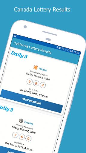 California Lottery Results 1.1 screenshots 4