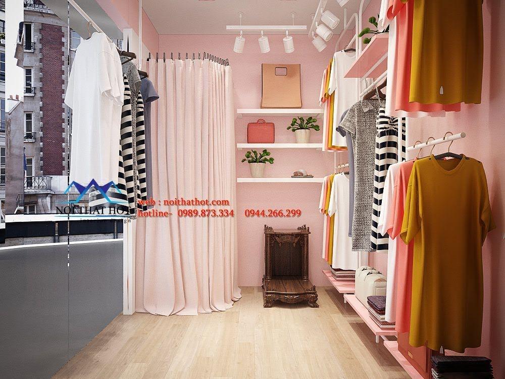 thiết kế shop thời trang ena 3
