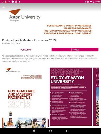 aston study review