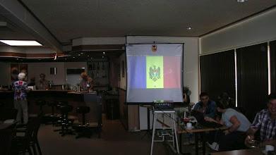 Photo: Vlag van Moldavië