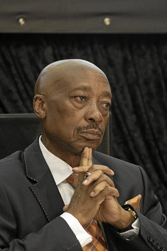 Suspended SARS chief Tom Moyane. Picture: SUNDAY TIMES