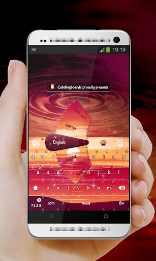 魅惑のサンセット GO Keyboard