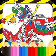 Dino DRobo Trux Coloring Book APK Icon