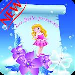 Coloriage enfants Jolies Princesses Icon