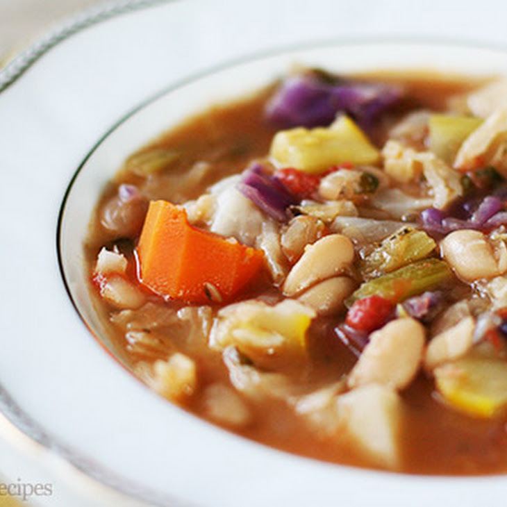 White Bean and Vegetable Soup Recipe