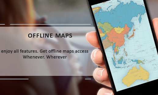 World Offline Map & Live Street View - náhled