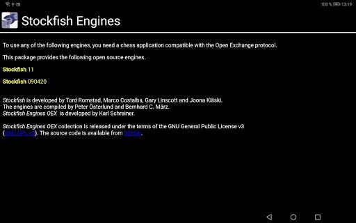Stockfish Engines OEX  screenshots 3