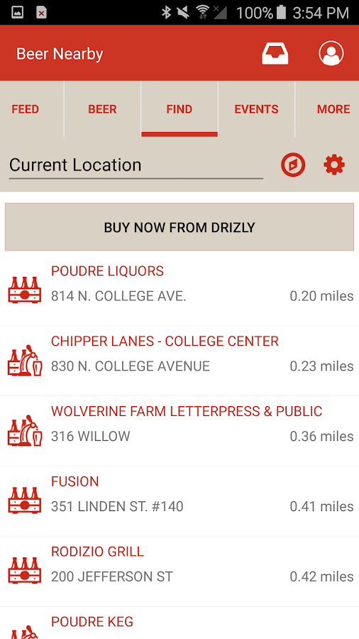 New Belgium Beer Mode- screenshot