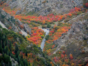 Photo: Mill Creek Canyon road