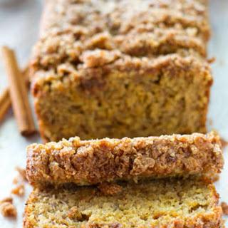 Cinnamon Streusel Coffee Cake Banana Bread
