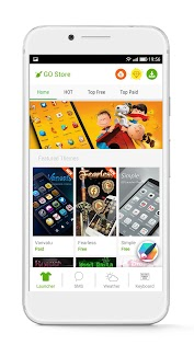 GO Launcher - 3D parallax Themes & HD Wallpapers Appar (APK) gratis nedladdning för Android/PC/Windows screenshot