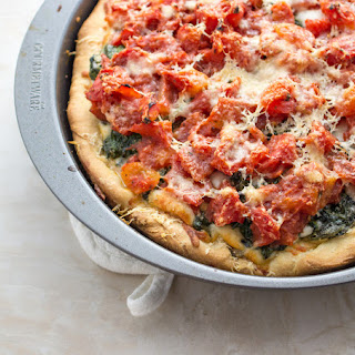 Chicago Deep Dish Pizza For Two