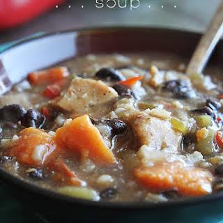 Jamaican Jerk Chicken Soup.
