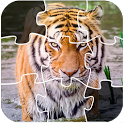Wild Lion And Animal Jigsaw Puzzles icon