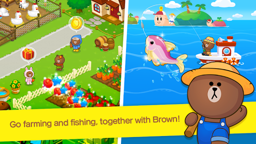 LINE BROWN FARM 3.1.8 screenshots 1