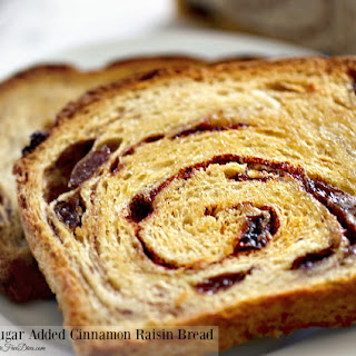No Sugar Added Cinnamon Raisin Bread