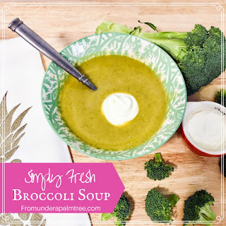 Broccoli Soup With Fresh Broccoli Recipes.