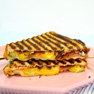 Easy Bacon, Avocado, & Cheese Panini Recipe!